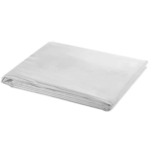 vidaXL Backdrop Cotton White 16x10 feet