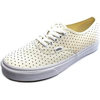 Vans Authentic Slim Round Toe Canvas Sneakers