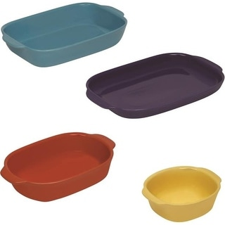Corningware 1114117 4 Piece Nesting Bakeware Set