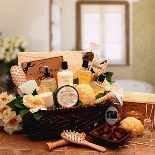 Link to Spa Therapy Relaxation Gift Hamper Similar Items in Spa & Relaxation Baskets