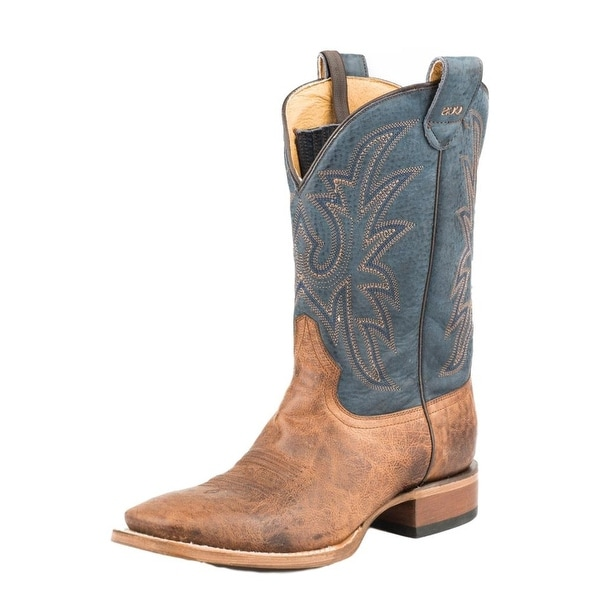 Roper Western Boots Mens SW Concealed Carry Tan