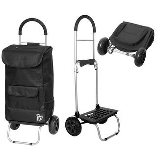dbest products Bigger Trolley Dolly - Foldable Hand Cart and Bag