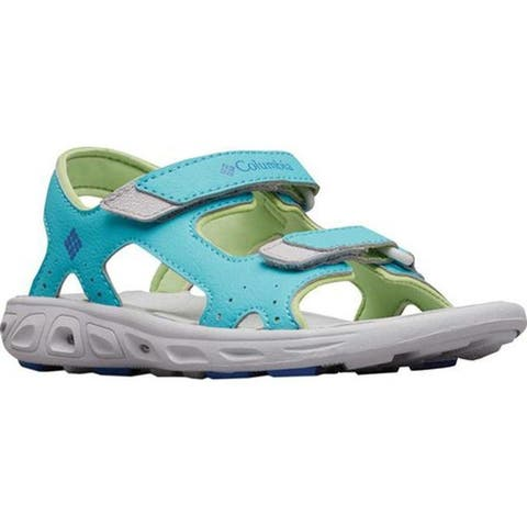 Columbia Children's Techsun Vent Sandal Youth Geyser/Vivid Blue