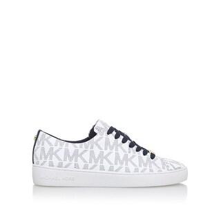 MICHAEL Michael Kors Womens Keaton Low Top Lace Up Fashion Sneakers