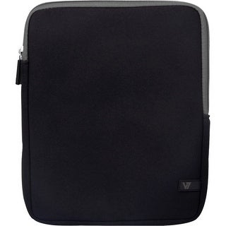 "V7 TD23BLK-GY-2N V7 Ultra TD23BLK-GY-2N Carrying Case (Sleeve) for 10.1"" Tablet PC, iPad - Black - Shock Resistant -"