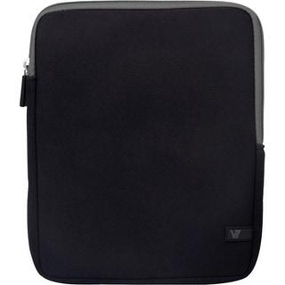 "V7 TD23BLK-GY-2N V7 Ultra TD23BLK-GY-2N Carrying Case (Sleeve) for 10.1"" Tablet PC, iPad - Black - Shock Resistant -"