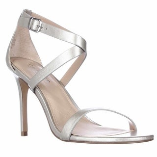 Charles by Charles David Rookie Strappy Dress Sandals - Silver, 8.5 M US