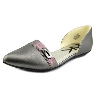 Anne Klein AK Oshea Women Pointed Toe Synthetic Flats