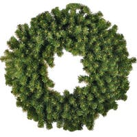 Christmas at Winterland WL-GWSQ-04 4 Foot Sequoia Wreath - green