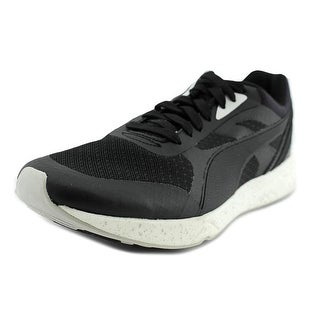 Puma 698 Ignite Round Toe Canvas Running Shoe