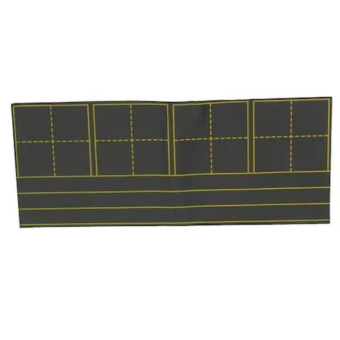 School Refrigerator Parallel Matts Pattern Adhesive Magnetic Blackboard Chalkboard Teaching Tool