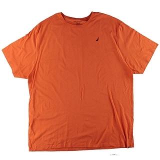 Nautica Mens Big & Tall Casual Cotton T-Shirt - 3xlt