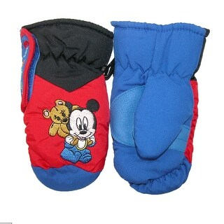 Disney Toddler's Baby Mickey Mouse Mittens - One Size