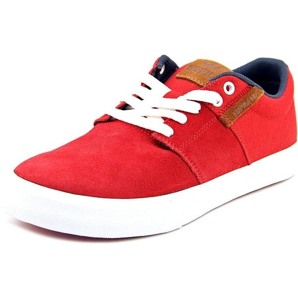 Supra Stacks Vulc II Men Red/Navy-Wht Skateboarding Shoes