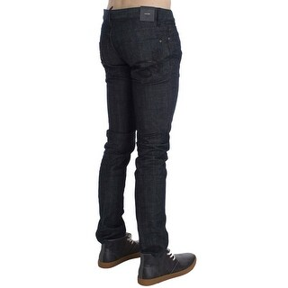 Dsquared² Dsquared² Dark Blue Cotton Stretch Denim Slim jeans - it46-s