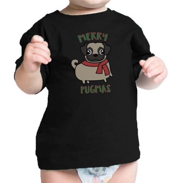Merry Pugmas Pug Funny Infant Graphic Tee Cute Gift For Pug Lovers