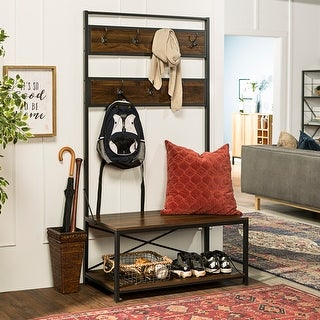 Link to Carbon Loft Geller 72-inch Mixed Material Hall Tree Similar Items in Living Room Furniture