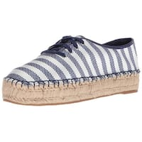Nine West Women's Gingerbred Fabric Oxford Flat - 8