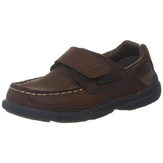 Sperry Boys Charter H&L Leather Boat Shoes - 6