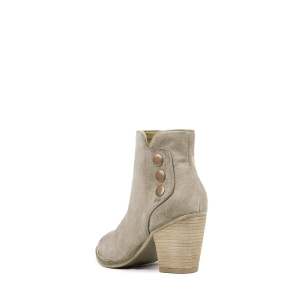 Jeffrey Campbell Womens Roshana Suede Almond Toe Ankle Fashion, Brown, Size 7.0