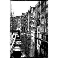 Darkroom Door DDPS024 Canal - Cling Stamp