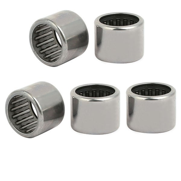 HK2020 20mmx26mmx20mm Full Complement Drawn Cup Needle Roller Bearing 5pcs