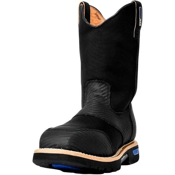 "Cinch Work Boots Mens WRX CT Safety Toe 11"" Shaft Black"