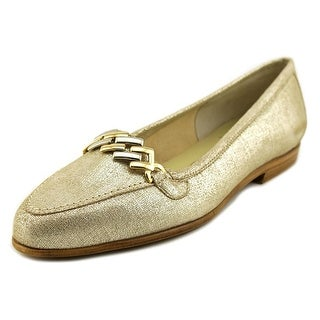 Amalfi By Rangoni Oste Women  Pointed Toe Leather Tan Loafer