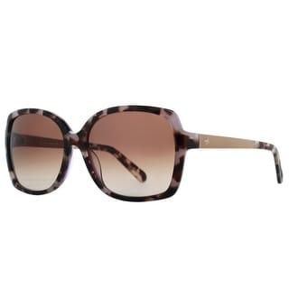 KATE SPADE Butterfly Darilynn/S Women's W05 B1 Tortoise Brown Purple/Gold Brown Gradient Sunglasses - 58mm-16mm-135mm