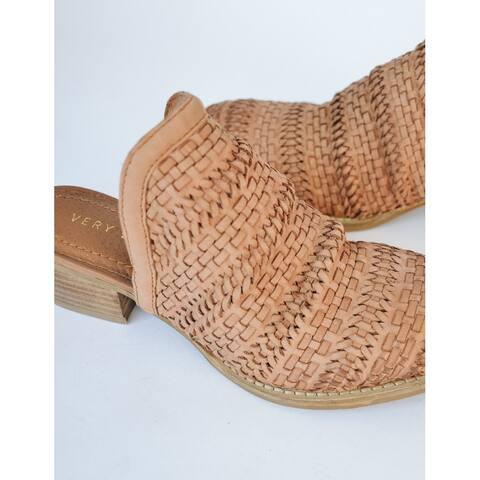 Very Volatile Womens Soko Leather Closed Toe Mules - 10