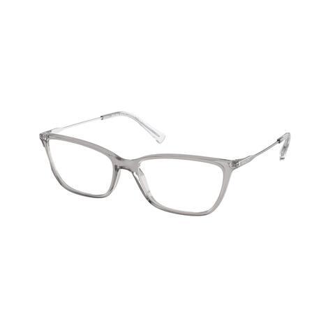 Ralph RA7124 5916 55 Shiny Transparent Grey Woman Butterfly Eyeglasses