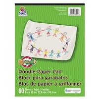 Pacon PAC3421 Little Fingers Doodle Pad