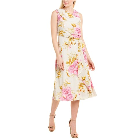 Donna Ricco Midi Dress
