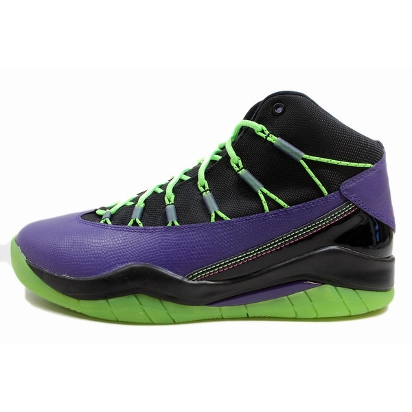Nike Air Jordan Prime Flight Bel Air Shoes Mens 616846 018 purple pink