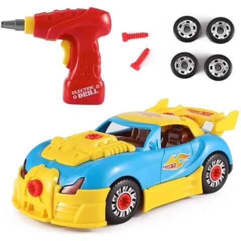 Toy Racing Car Kit - Black