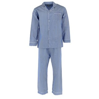 Ten West Apparel Men's Long Sleeve Long Leg Pajama Set