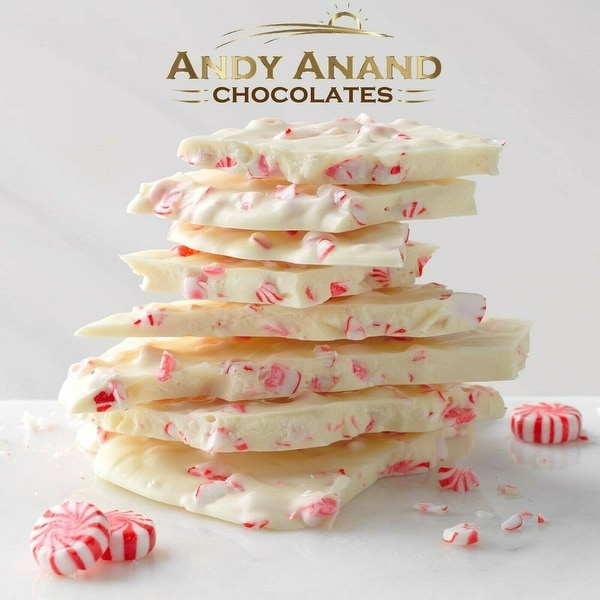 Andy Anand Sugar Free Peppermint Chocolate Bark Gift Box 1 lbs. Opens flyout.