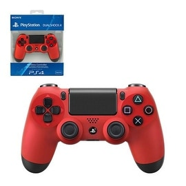 Sony Red Dualshock 4 Wireless Controller for PlayStation 4