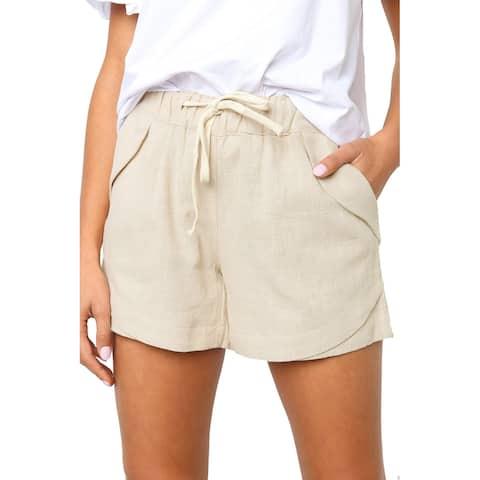 Beige Molly Shorts