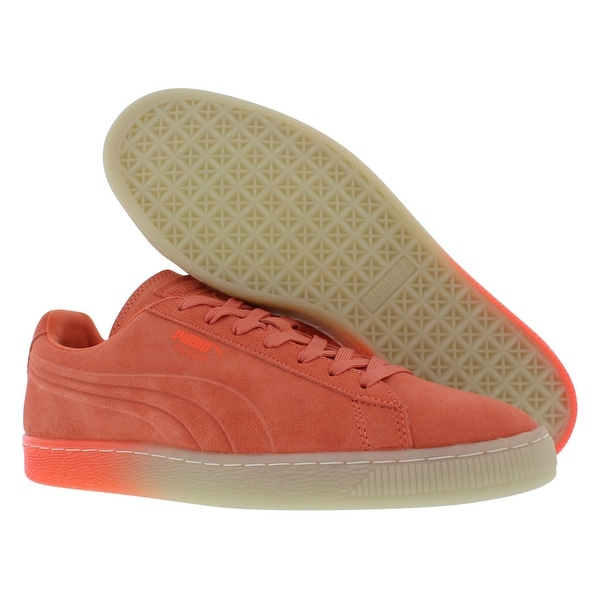 Puma Suede Emboss Iced Fluo Fade Men's Shoes Size