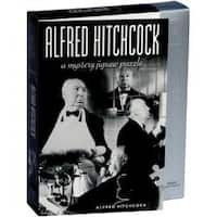 """Alfred Hitchcock - Jigsaw Shaped Puzzle 1000 Pieces 23""""X29"""""""