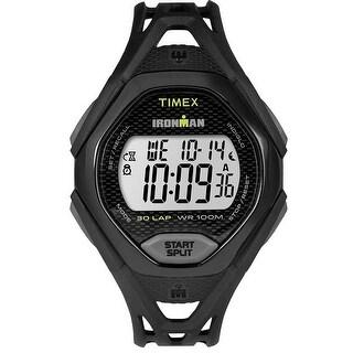 Timex IRONMAN Sleek 30 Full-Size Watch - Black