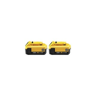 Replacement Battery for DeWALT DCB204 (2-Pack) Original Battery