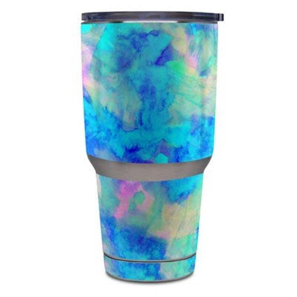 24af12d41fa Shop DecalGirl Yeti Rambler 30 oz Tumbler Skin - Electrify Ice Blue - Free  Shipping On Orders Over $45 - Overstock - 22493831