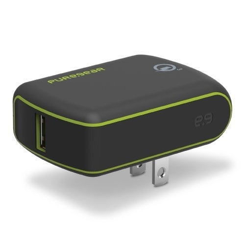 detailed look 30c63 aeed3 PureGear Extreme USB Wall Charger with Qualcomm Quick Charge 3.0 - Black