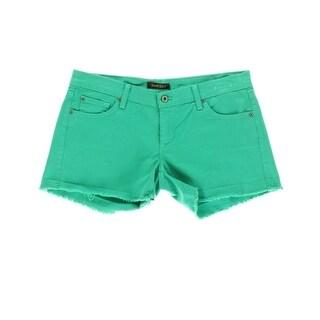 James Jeans Womens Shorty Slouchy Fit Boyfriend Short Cutoff Shorts