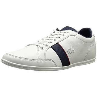Lacoste Mens Leather Lace Up Casual Shoes - 12 medium (d)