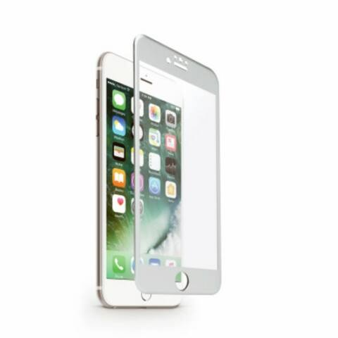 iHome IH-7P528AS Screen Protector for iPhone 6 / 6S / 7, Silver