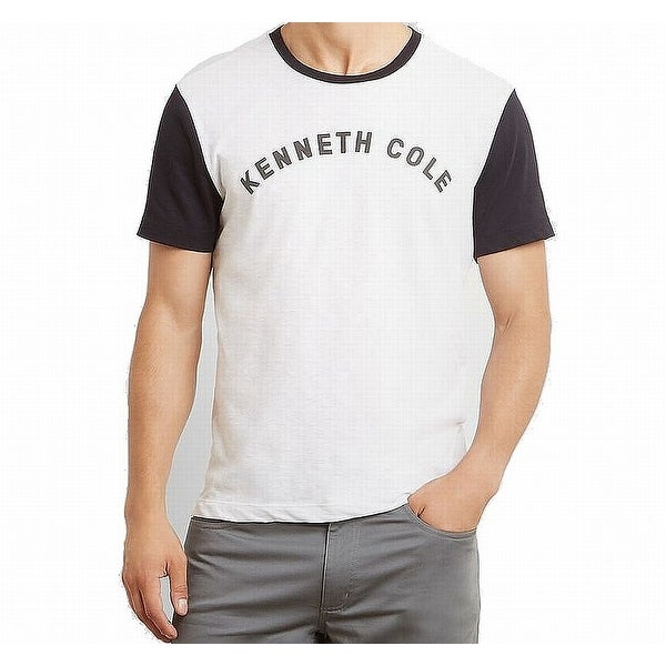 13bfbcf6 Shop Kenneth Cole Reaction White Mens Size XL Graphic Tee T-Shirt - Free  Shipping On Orders Over $45 - Overstock - 22108901