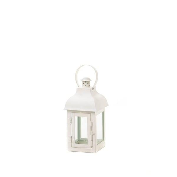 2 Terrace Small White Lanterns